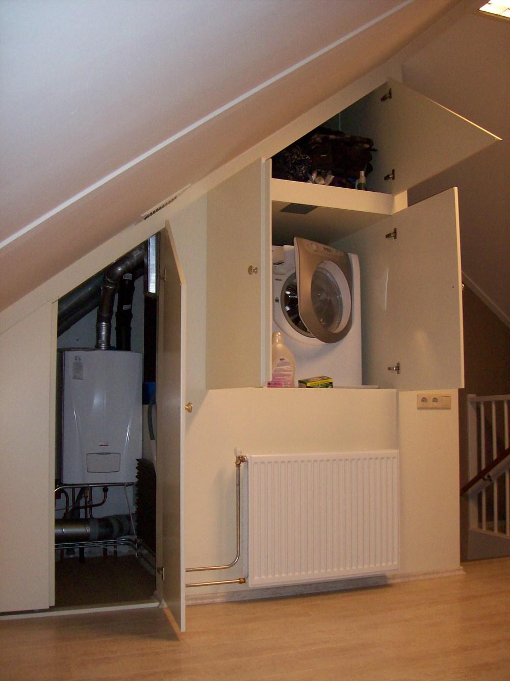 Badkamer wasmachine oplossing: oplossing gevraagd voor plaatsen ...