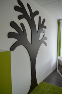 hout en fineer » houten wandboom, Deco ideeën